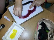 Papírmetszet nyomtatás technikája végzősökkel