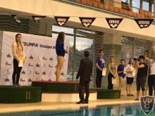 Úszás diákolimpia eredményhirdetés 100 m mellúszás