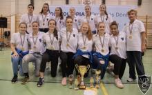 A győztes kosárlabda csapat