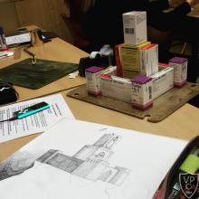 Makett készítés rajz fakultáción