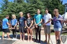 Nemzetközi nyíltvizi úszóverseny 3. hely